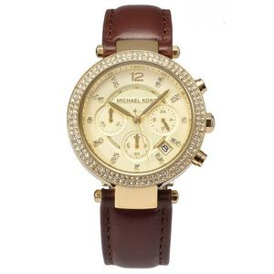 Michael Kors Parker Gold-Tone Watch MK2249